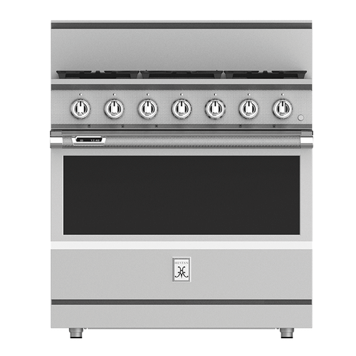 "36"" 5-Burner Dual Fuel Range - KRD Series - Pacific-fog"