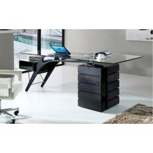 Modrest Suffolk - Contemporary Black Ash Desk