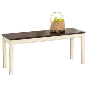 Whitesburg Large Dining Room Bench