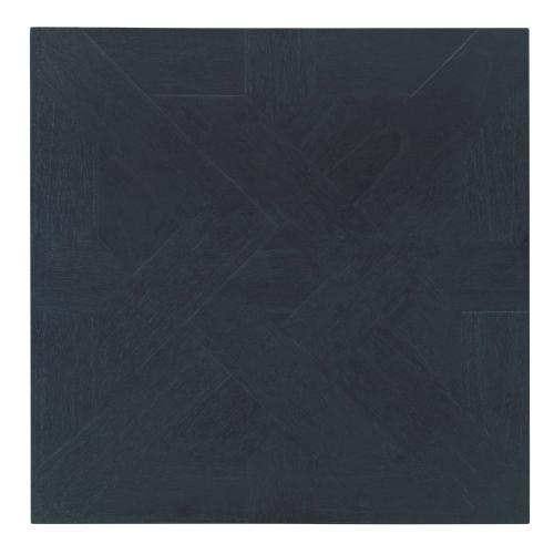 Square End Table - Black
