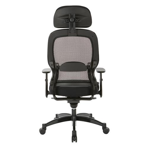 Professional Deluxe Black Breathable Mesh Back Chair