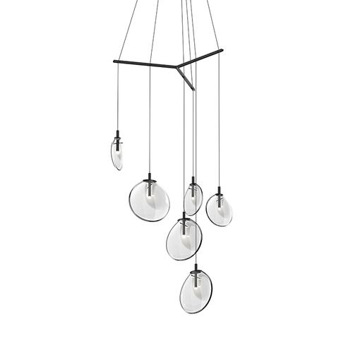 Cantina 6-Light Tri-Spreader LED Pendant