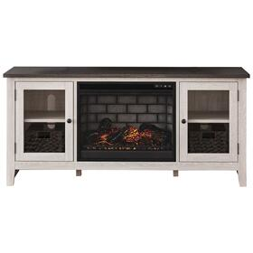 "Dorrinson 60"" TV Stand With Electric Fireplace"