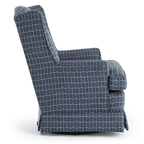 Best Home Furnishings - NATASHA Swivel Glide Chair