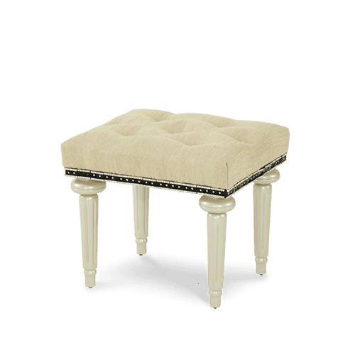 After Eight Pearl Vanity Bench