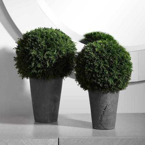 Uttermost - Cypress Globes, S/2