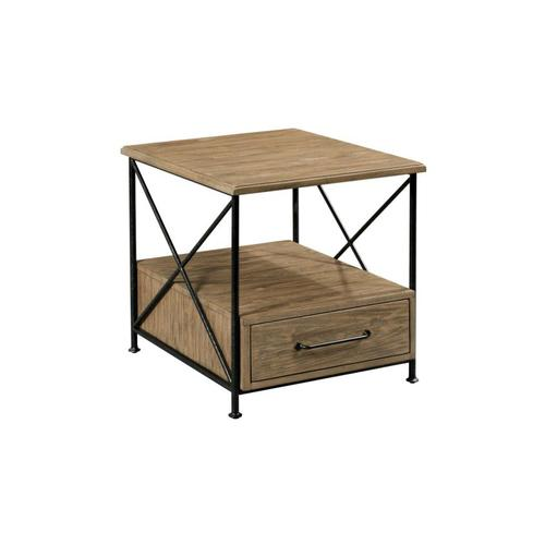 Modern Forge End Table