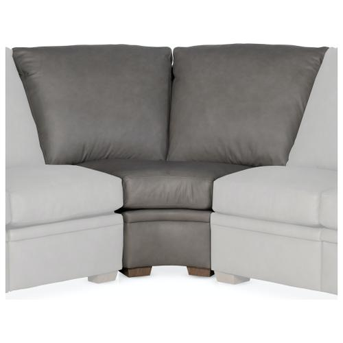 Bradington Young Sectionals 202 Reece Reclining Sectional with One-Piece Back
