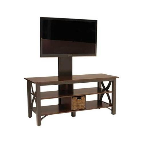 """Gunmetal Audio Video Stand Fits AV components and TVs up to 60"""""""