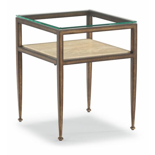 Flexsteel - Venice Chairside Table