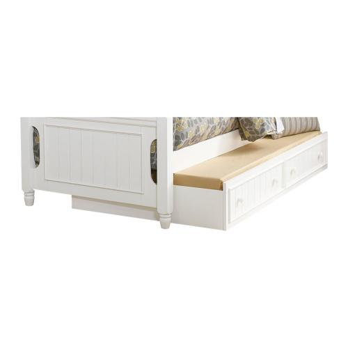 Full Platform Bed with Twin Trundle