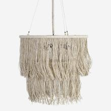 "Bryer 24"" Fringe Drum Chandelier"