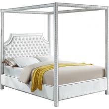 """Rowan Velvet Bed - 80.5"""" W x 86"""" D x 78"""" H"""