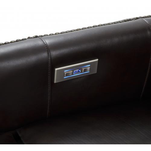 Gallery - Aniston Power Recline Fudge