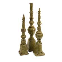 Davignon Tall Finials - Set of 3