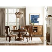 Hillcrest Round Dining Table Complete