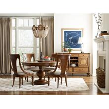 View Product - Hillcrest Round Dining Table Complete