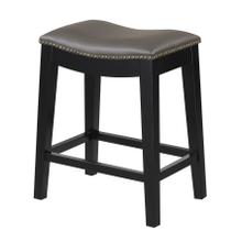 "Briar 24"" Bar Stool Elephant Gray"