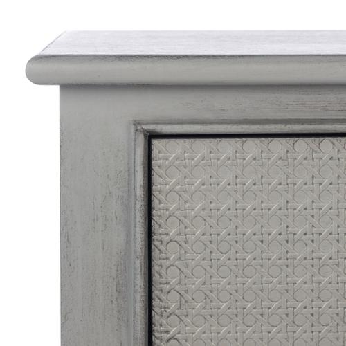 Safavieh - Haines 2 Drawer Console Table - Distressed Grey