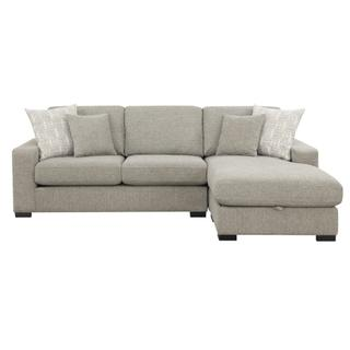 See Details - Brahms Reversible Sectional w/ Storage