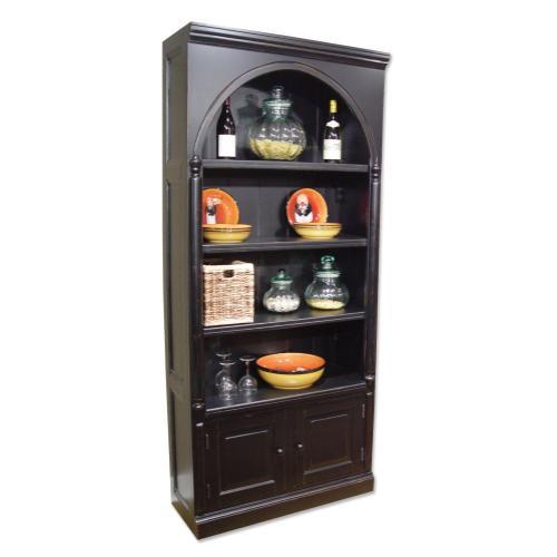 Trade Winds - Classic Book Cabinet - Blk