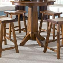 View Product - Pub Table Base - Tobacco