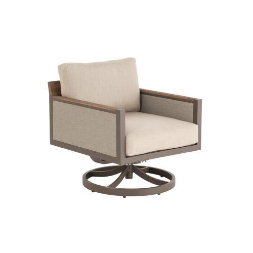 Hewitt Deep Seating Swivel Rocker w/ cushions