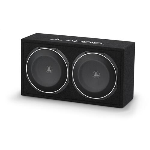 JL Audio - Dual 10TW1 PowerWedge, Sealed, 2