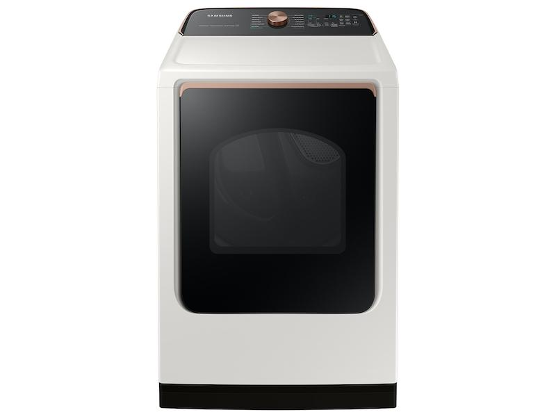 Samsung7.4 Cu. Ft. Smart Electric Dryer With Steam Sanitize+ In Ivory