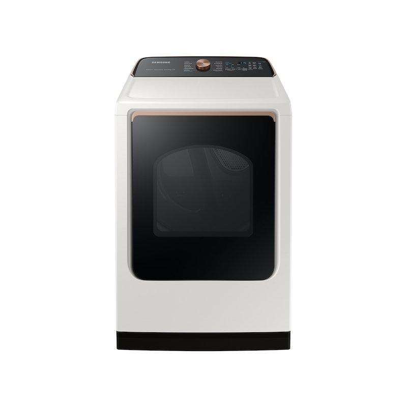 7.4 cu. ft. Smart Electric Dryer with Steam Sanitize+ in Ivory