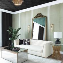View Product - Wafa Cream Velvet Sofa