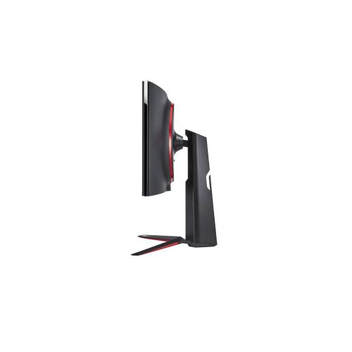 """LG - 34"""" Nano IPS 1 ms QHD Curved UltraGear™ Gaming Monitor with 160Hz Refresh Rate, VESA Display HDR400, AMD FreeSync™ Premium & G-SYNC Compatible"""