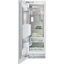 """See Details - Vario freezer 400 series RF 463 701 fully integrated Niche width 24"""" (61 cm), Niche height 84"""" (213.4 cm) Left-hinged"""