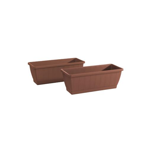 Kezar Plant Box w/ attached oblong tray, Medium