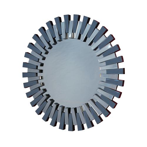 Montreal Round Facet Mirror
