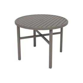 """Amici 48"""" Round KD Counter Umbrella Table"""