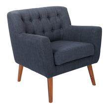 Mill Lane Mid-century Modern Tufted Armchair