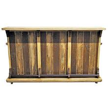 See Details - Slated Wood Bar