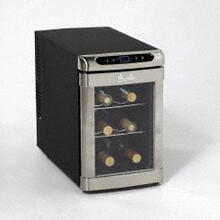 Model EWC60BS - 6 Bottle Thermoelectric Wine Cooler