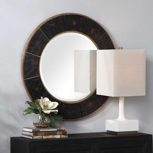 Kerensa Round Mirror