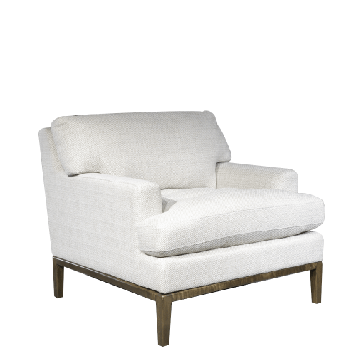 Gallery - Lewis Occasional Chair in Serene Pearl