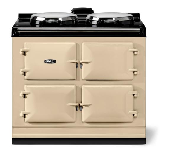 "AGAAga Classic 39"" Dual Control Electric-Only Model, Cream"