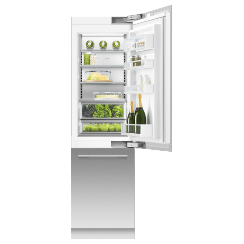 """Product Image - Integrated Refrigerator Freezer, 24"""", Ice & Water"""