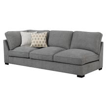Repose Lsf Corner Sofa W/ 2 Pillows Storm Gray