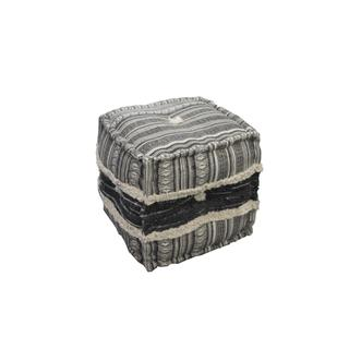 See Details - Square Pouf