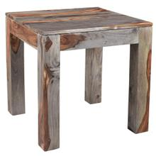 Idris Accent Table in Grey