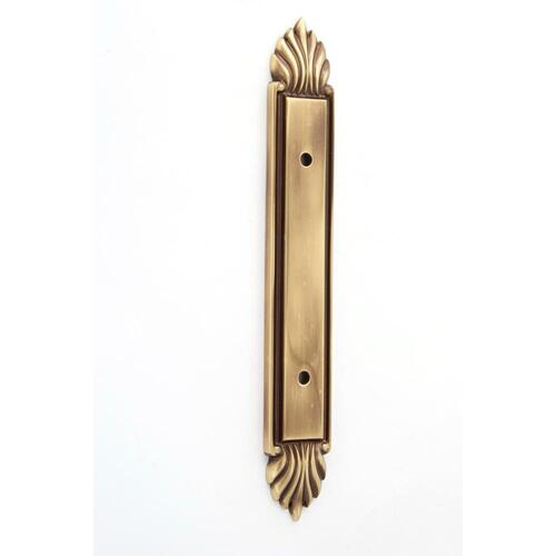 Fiore Backplate A1477-3 - Polished Antique