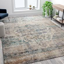 Artisan Old English Style Traditional Rug - 8' x 10' - Blue
