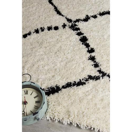 Maroq 5413 White Black 7 x 10