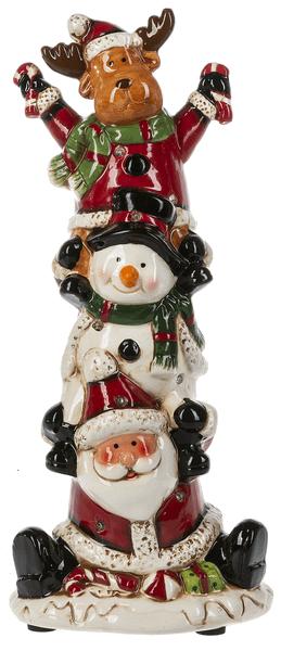 Santa & Pals Light Up Musical Figurine